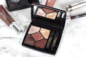 Metallisches Make-up mit der neuen Dior Kollektion. Kosmetikprodukte Metallics für den Herbst